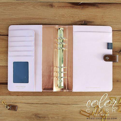 Webster's Pages Color Crush A5 Planner Kit (Walnut