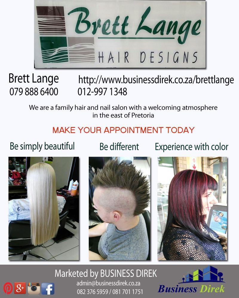 Pin By Business Direk On Brett Lange Hair Designs Hair And Nail Salon Hair Designs Hair And Nails