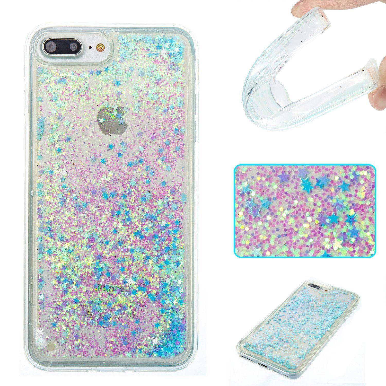 Iphone 8 Plus Case Iphone 7 Plus Damondy 3d Cute Bling Liquid Glitter Floating Quicksand Diamond Water F Glitter Phone Cases Glitter Iphone 6 Case Iphone Cases