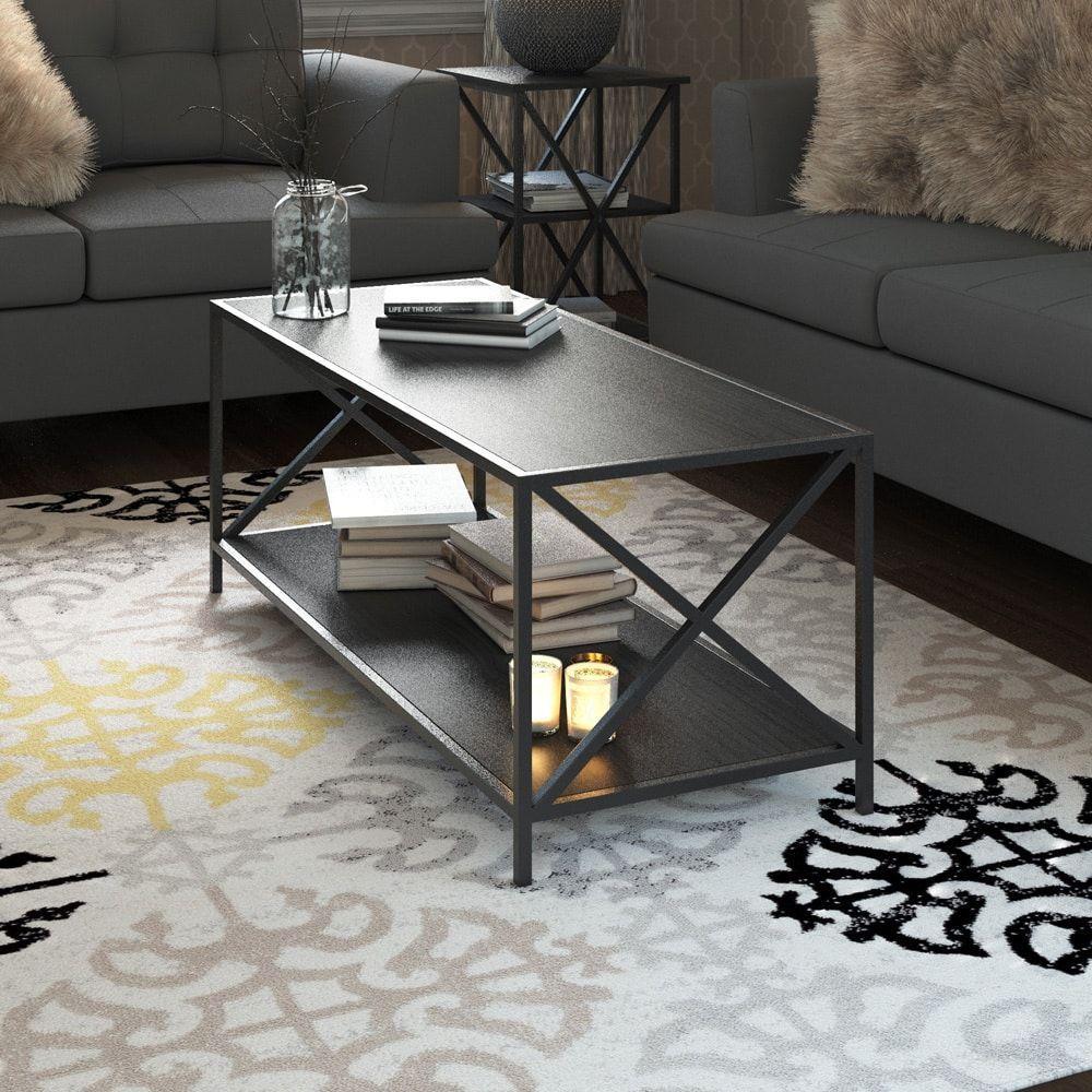Carbon Loft Ehrlich Coffee Table Furniture Sofa End Tables
