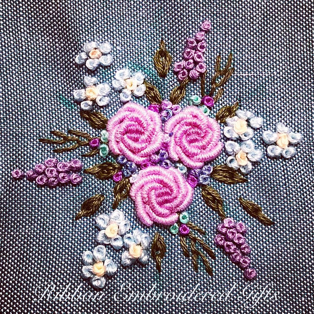 Back To Basic Bullion Roses Got Me Hooked In Embroidery And I