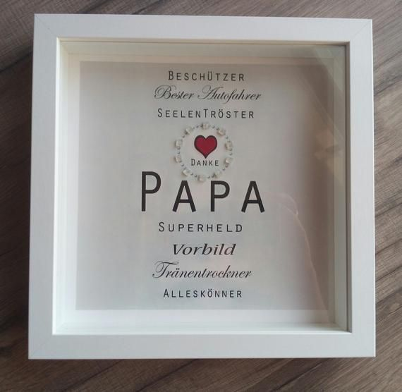 "Photo of Christmas Gift Picture ""PAPA"" Dad, Birthday, Personalized, Thank You Dad, Superhero, Model, Soul Comforter"