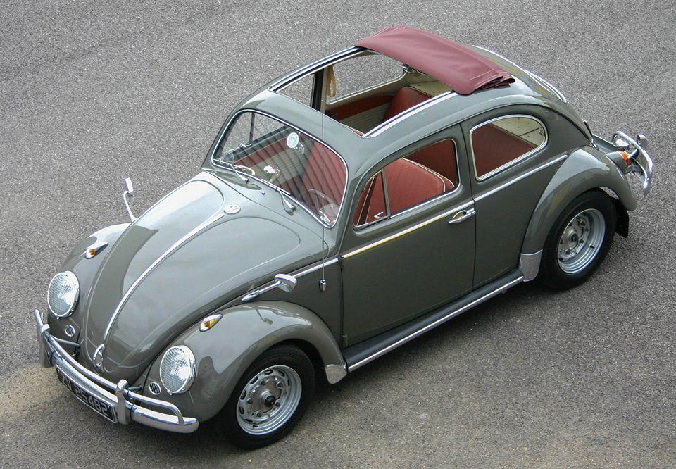 1962 Volkswagen Beetle Ragtop with Porsche 356 Running Gear