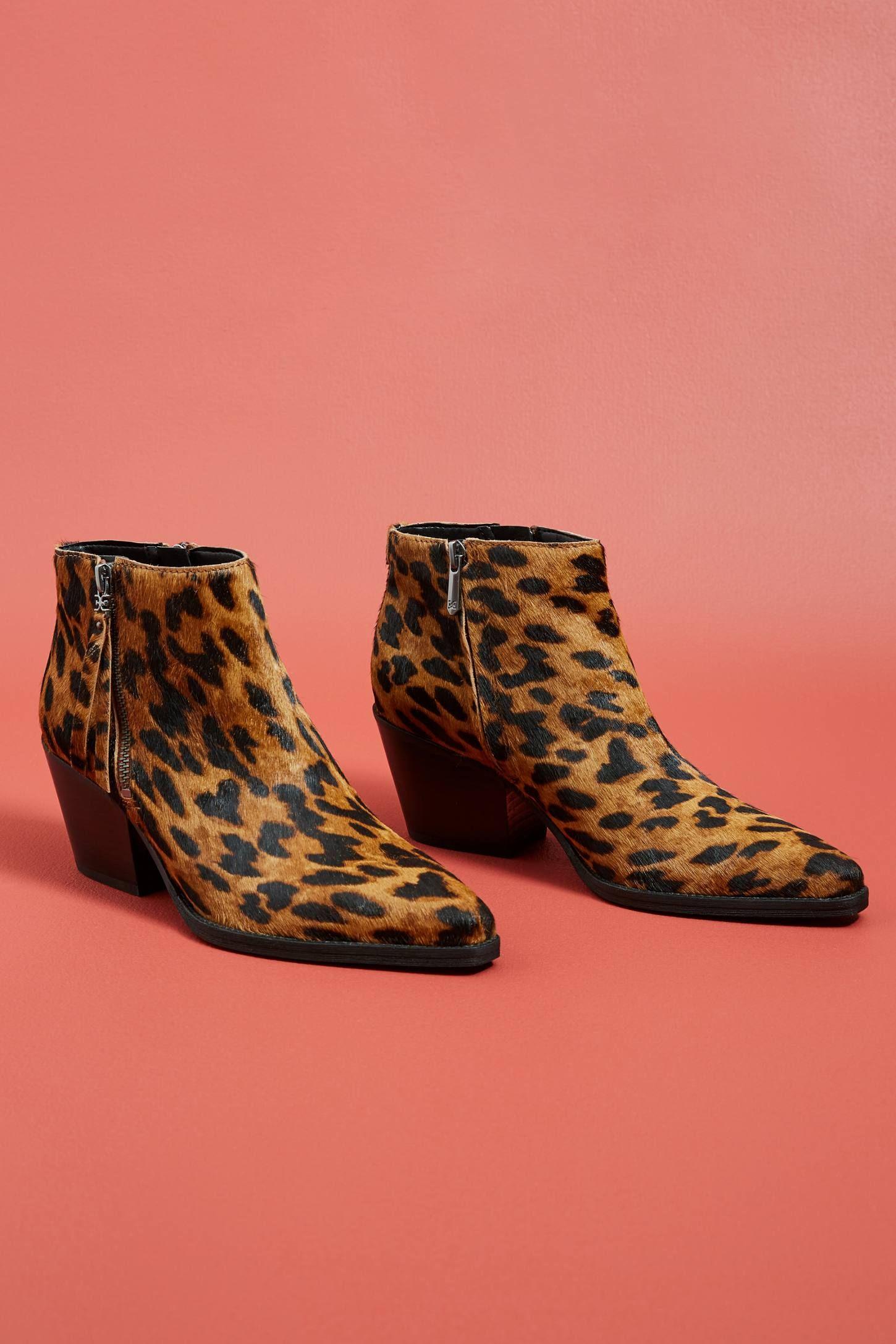 5731b9b0194e Sam Edelman Walden Leopard Booties