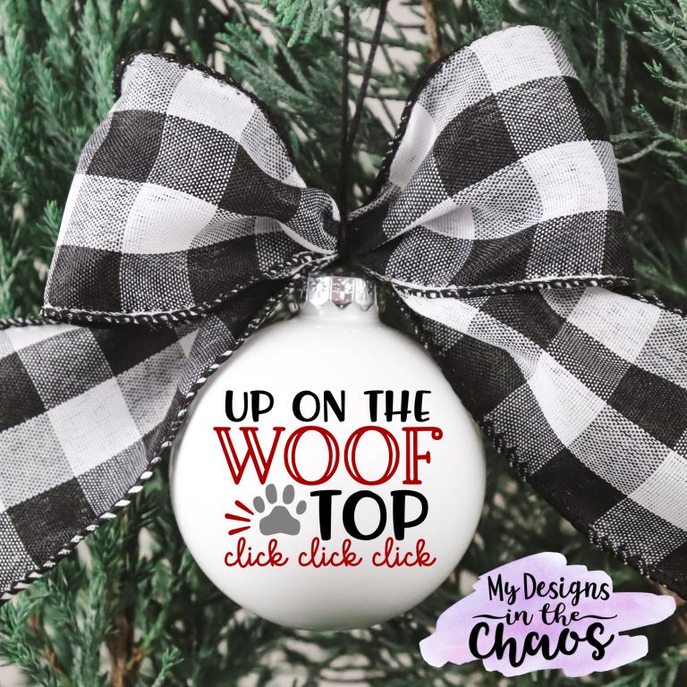 Free Animal Lover Christmas SVG Files #christmasornaments