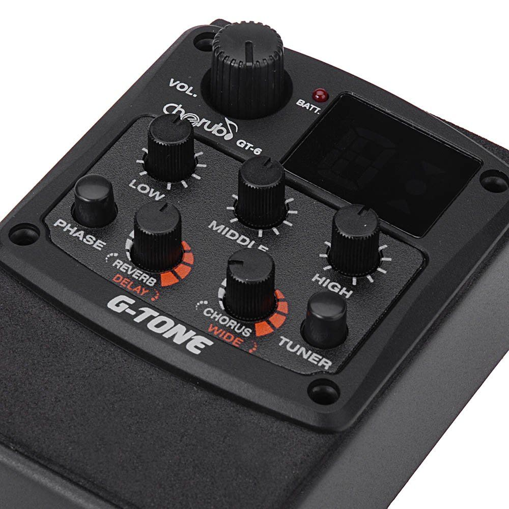Andoer Cherub Gtone Gt6 Acoustic Guitar Preamp Piezo Pickup 3band Eq Equal Click Image To Review More Details It Is Amazon Tuner Acoustic Guitar Guitar