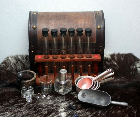 larp alchemy apothecary kit versalla on etsy pinterest apothicaire jeux de soci t et. Black Bedroom Furniture Sets. Home Design Ideas