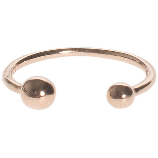 ART YOUTH SOCIETY Piercing Rose Gold 14 karat rose gold ring