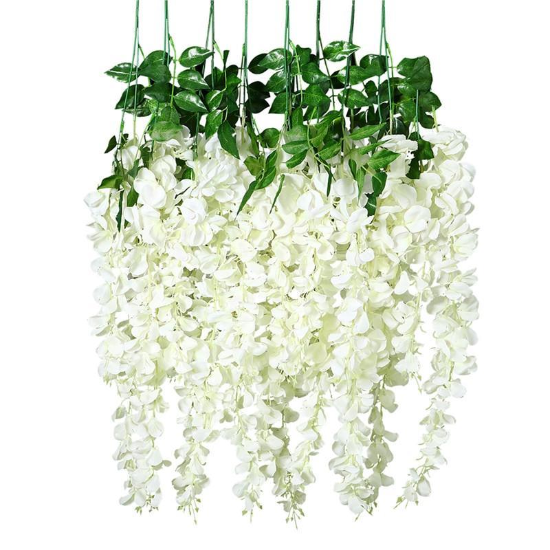 Artifcial Flower Simulation Cyclamen Leaves Fake Plant Wall Home Wedding Decor