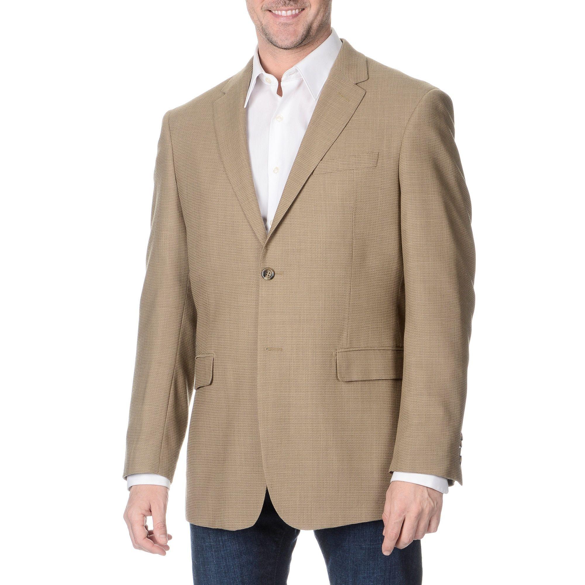 0434a12dd Pronto Moda Prontomoda Italia Men's Tan Jacket | Products | Jackets ...
