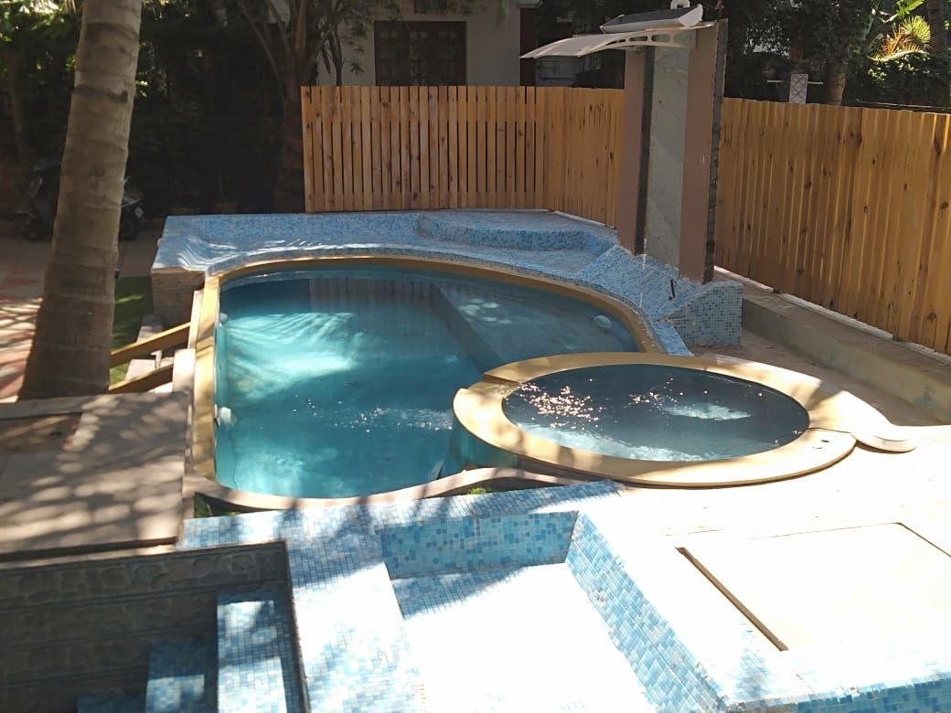 Pin By Art Grimes On Backyard Plunge Pool Ideas Plunge Pool Small House Swimming Pools
