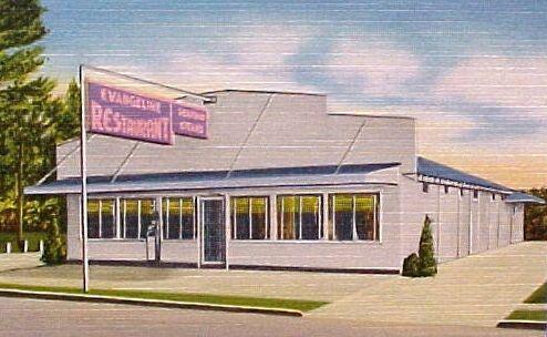 Evangeline Restaurant US Highway Pascagoula Mississippi - Hwy us 90 mississippi map