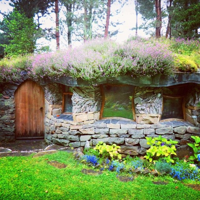 Fairytale house in Findhorn Ecovillage, Scotland. Give me a village like this!  My instagram: voiceofnature