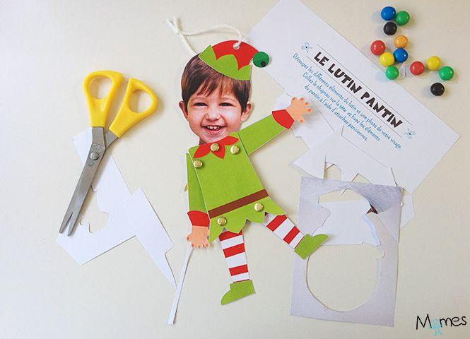 10 activités de Noël à imprimer gratuitement #activitemanuellenoelmaternelle