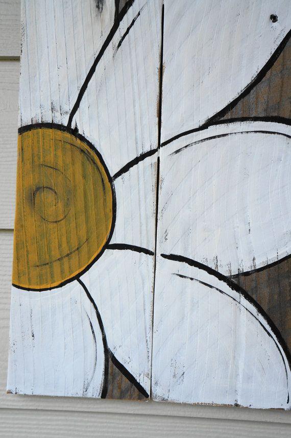 vintage reclaimed wood sign van SlightImperfections op Etsy