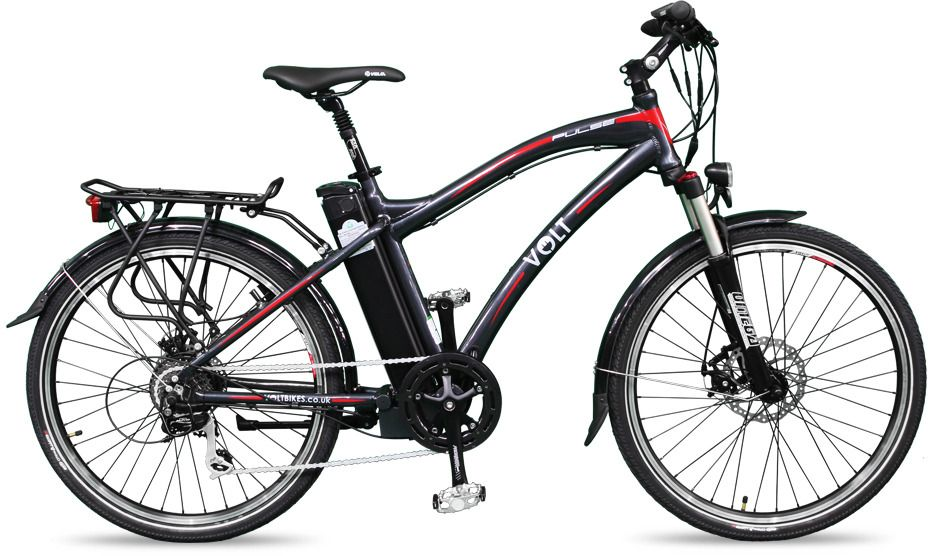 Review About Volt Pulse Hybrid Electric Bike Hybrid Electric
