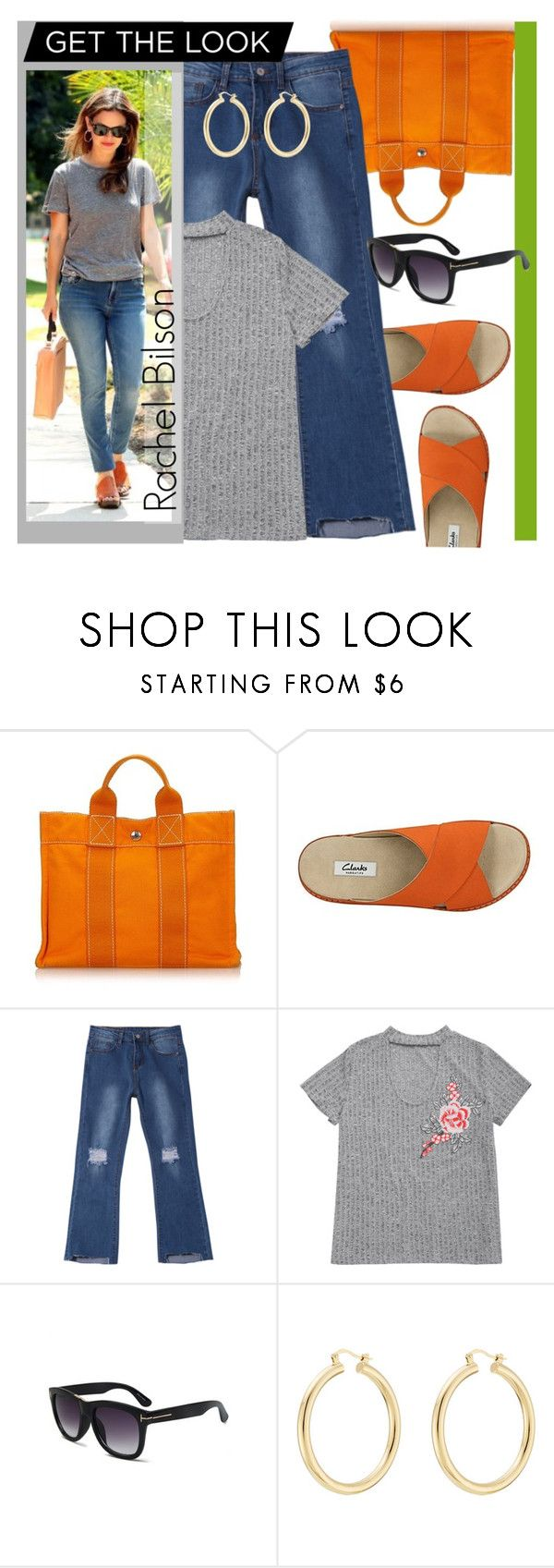 """""""Rachel Bilson - Get The Look"""" by goreti ❤ liked on Polyvore featuring Hermès, Clarks and Isabel Marant"""