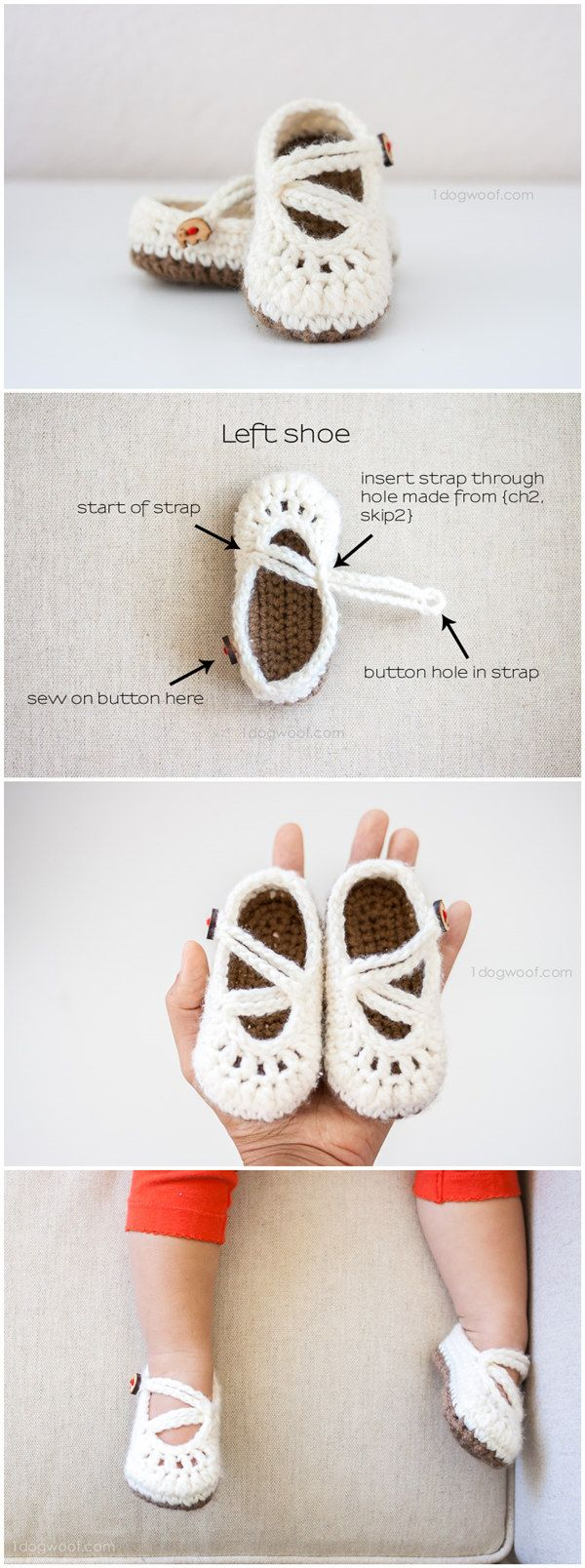 Double Strapped Baby Mary Janes Crochet Pattern | Ranas | Pinterest ...