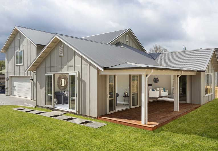 Astonishing board and batten house plans nz photos for Board and batten house designs