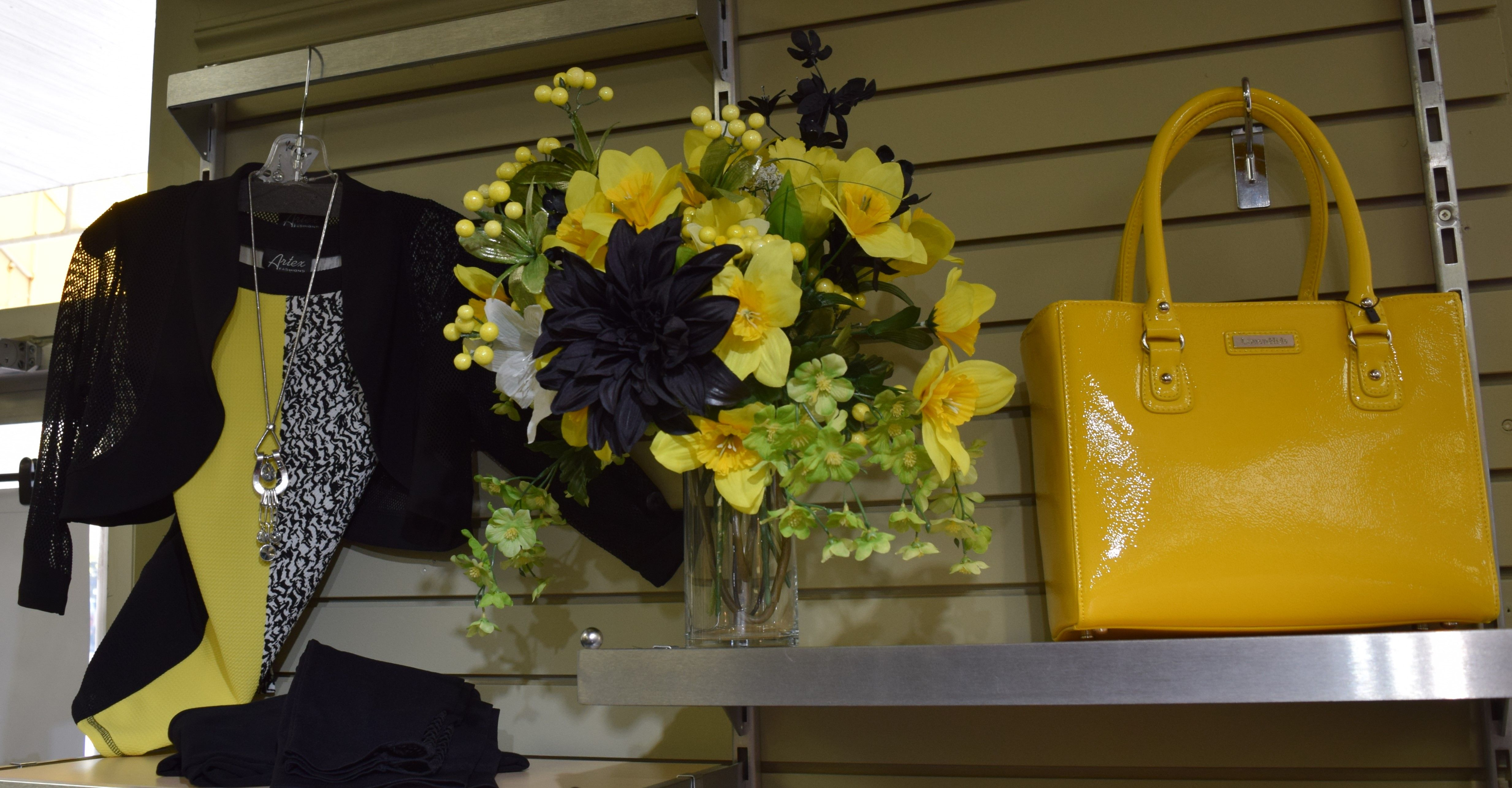Flowers are Blooming and so should your Wardrobe! Add a Splash of the color that dominated the Runway this Spring, Yellow!