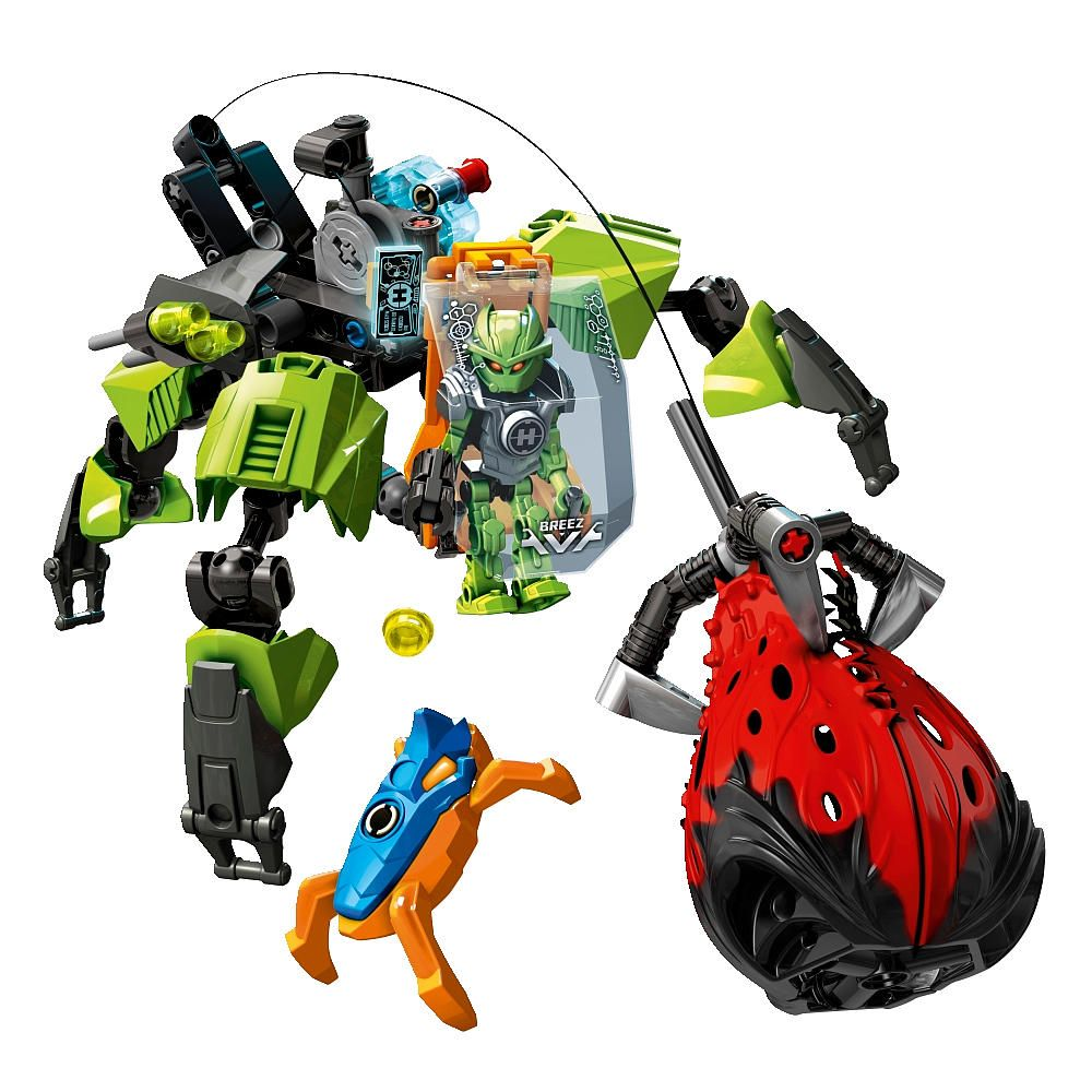 lego hero factory splitter beast vs furno evo 44021 hero