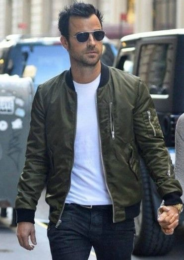 How a Bomber Jacket Should Fit | Man outfit, Fashion and Man style