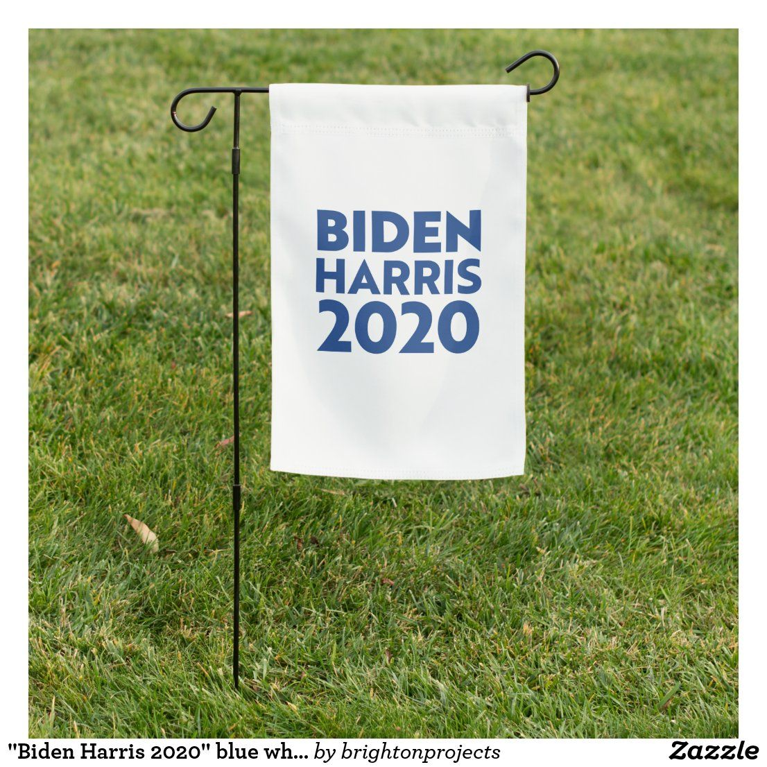 Biden Harris 2020 Blue White Garden Flag Zazzle Com In 2020 White Gardens Custom Garden Flags Garden Flags