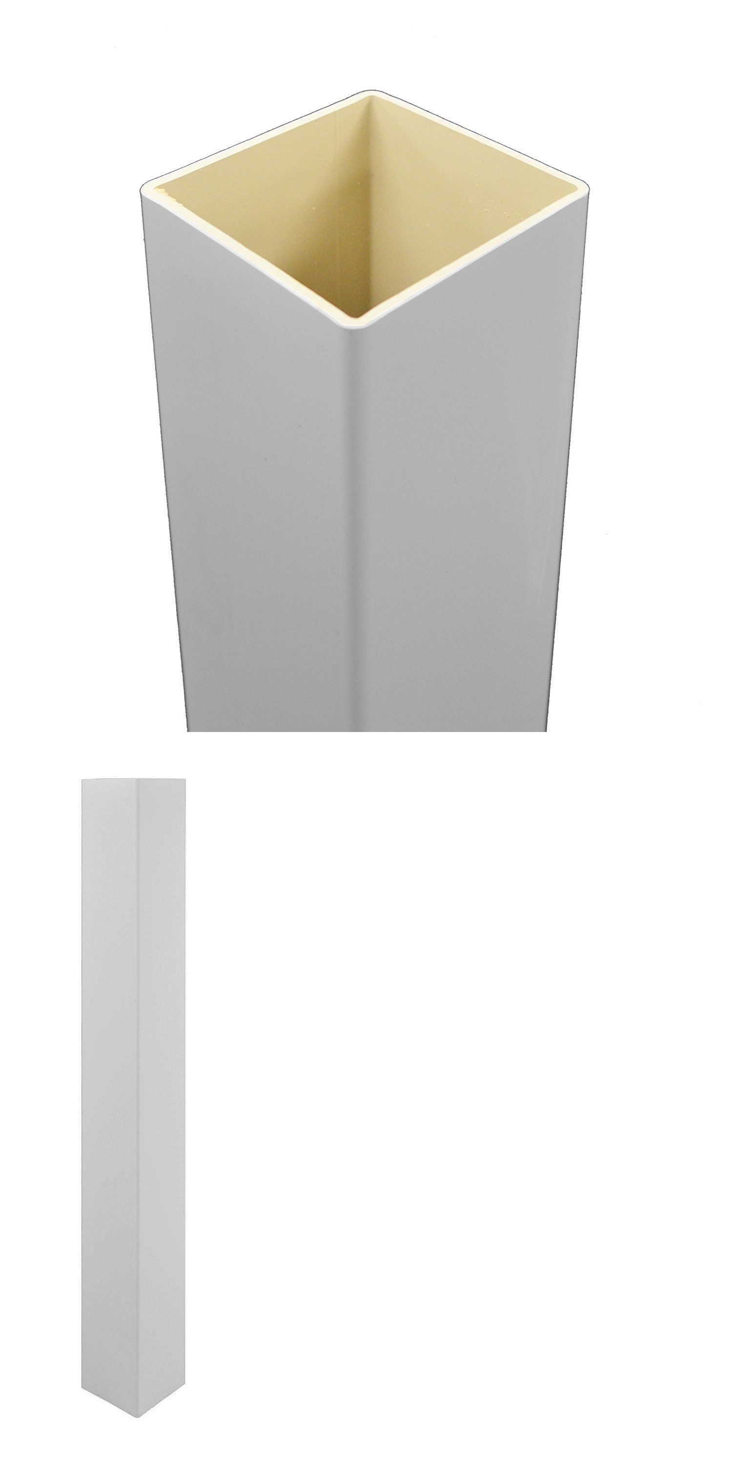 Other Garden Fencing 177033 White Pvc Vinyl True 4 Inch X 4 Inch X 96 Tall Post Sleeve Single Pack Buy It Now Only Vinyl Fence Pvc Vinyl Post Sleeve