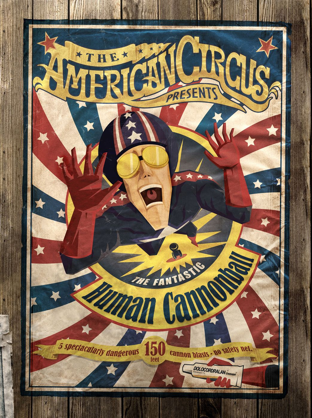 62 Best Human Cannonball images | Vintage circus, Vintage ... |Human Cannonball Circus Poster