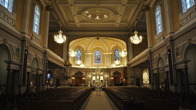 L'intérieur de l'église Très-Saint-Rédempteur