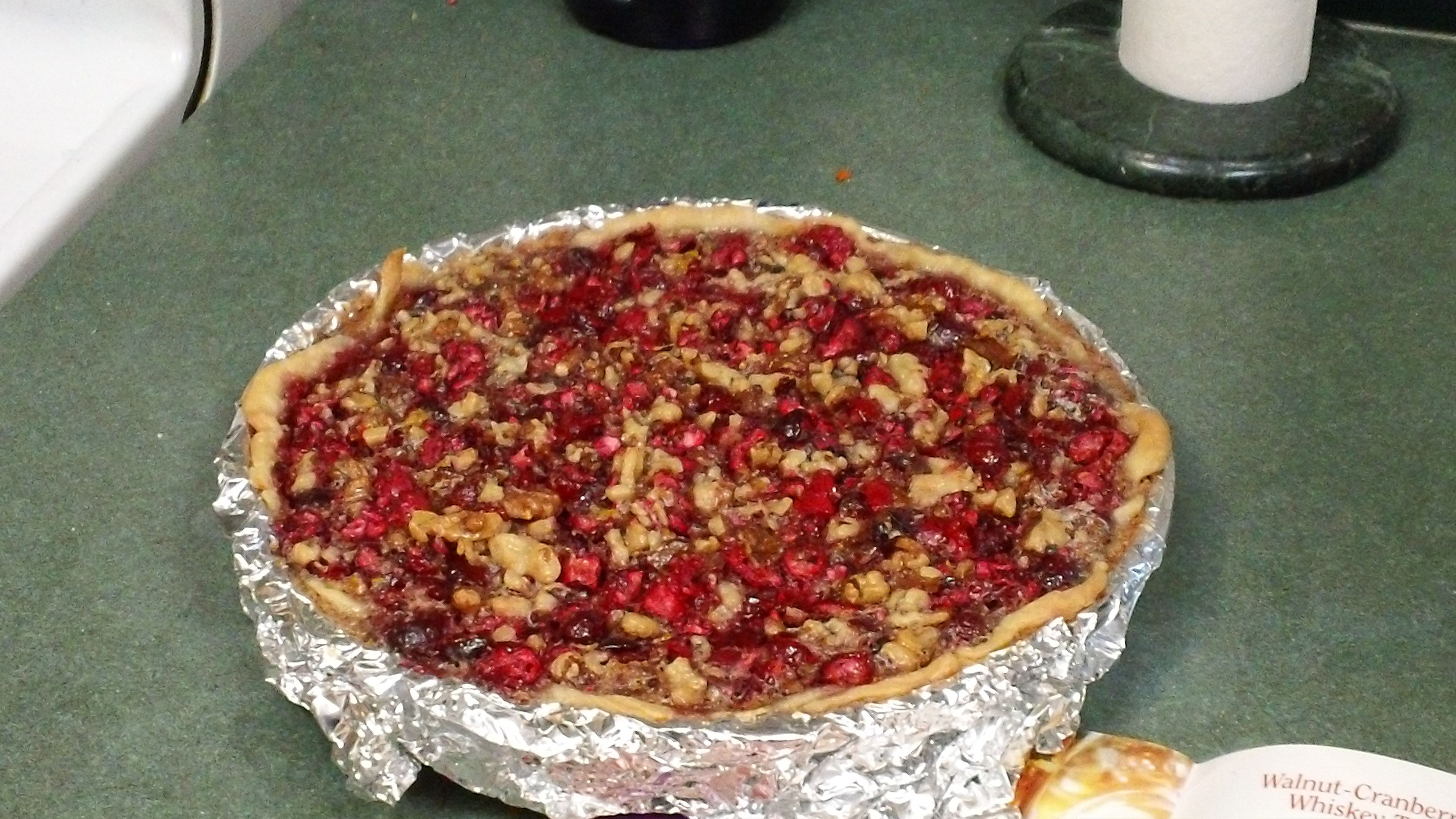 Cranberry Walnut Pie | Favorite Recipes | Pinterest