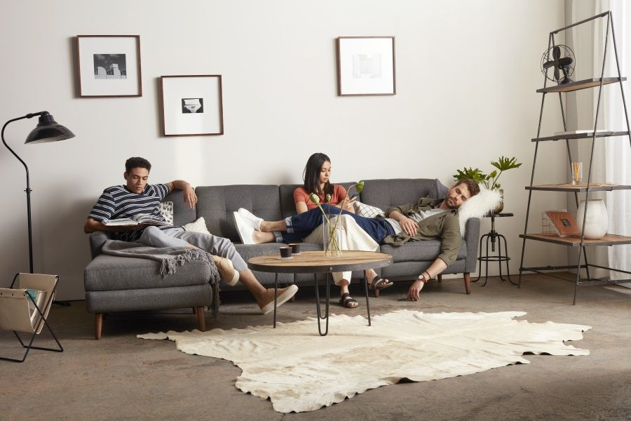 Burrow Makes The Perfect Couch For A Modern Bachelor Pad Man Of