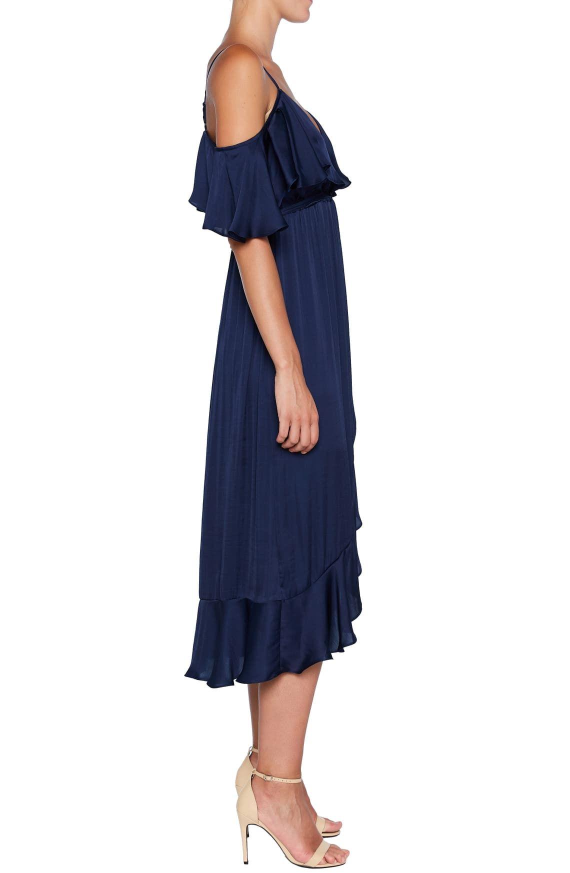 Bardot Bea Cold Shoulder Ruffle Dress Nordstrom Shoulder Ruffle Dress Nordstrom Dresses Ruffle Dress [ 1746 x 1140 Pixel ]