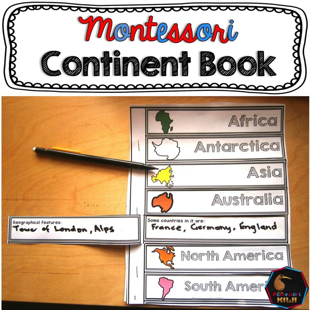 Continent Book