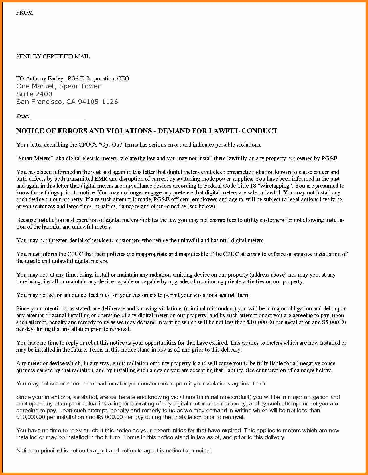 Certification Letter Confirmation Certified Letter News To Go 3