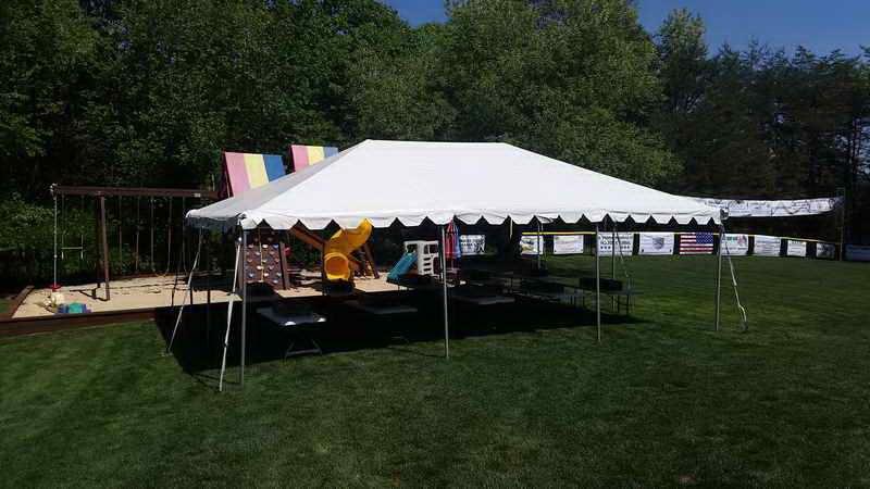 Frame tent rental prices