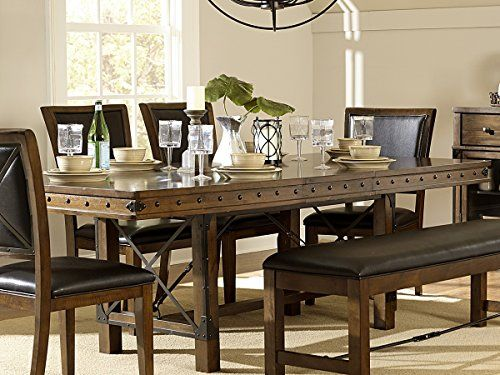 Rustic Turnbuckle Dining Room Furniture In Burnished Oak Dining Unique Oak Dining Room Furniture Design Inspiration