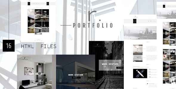 RPORTFOLIO - Creative Personal\/Company Portfolio Template - company portfolio template