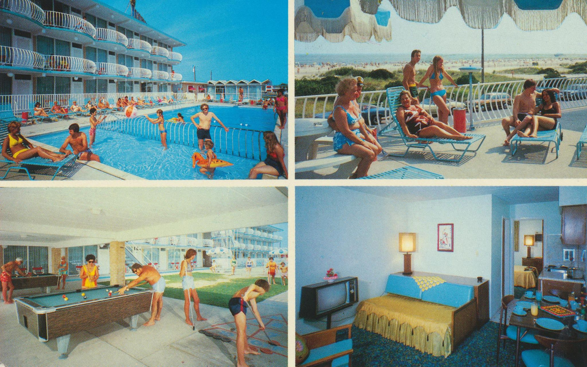 """Imperial """"500"""" Motel Wildwood Crest, New Jersey"""