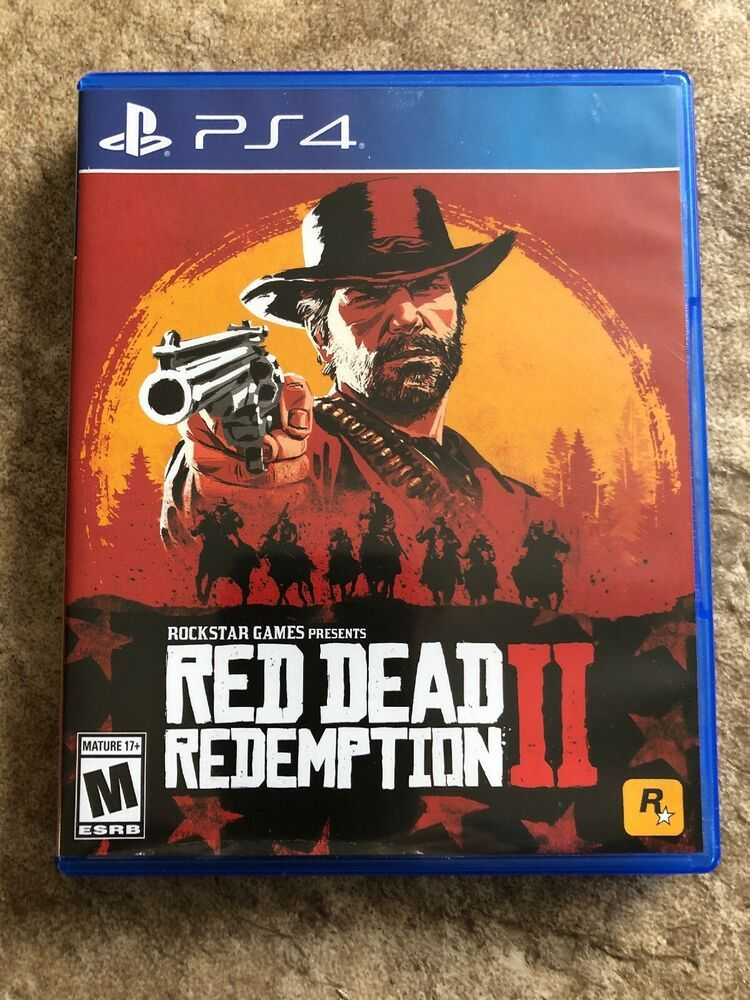 New Red Dead Redemption 2 Ps4 Sony Playstation 4 Video Game With