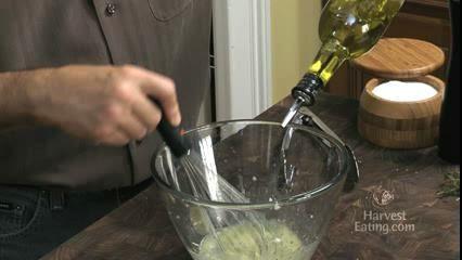 How to Prepare Lemon Thyme Vinaigrette