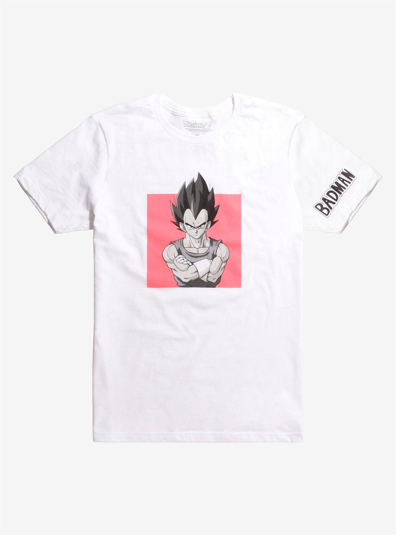 9e1ccca2f Dragon Ball Z Vegeta Badman T-Shirt | FUTURE CLOSET | Dragon ball z ...