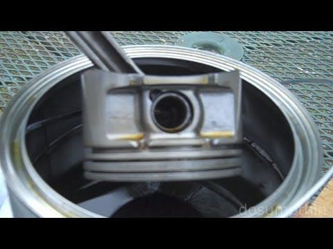 Dissolving Carbon Buildup From Pistons Cleaning Piston Ring