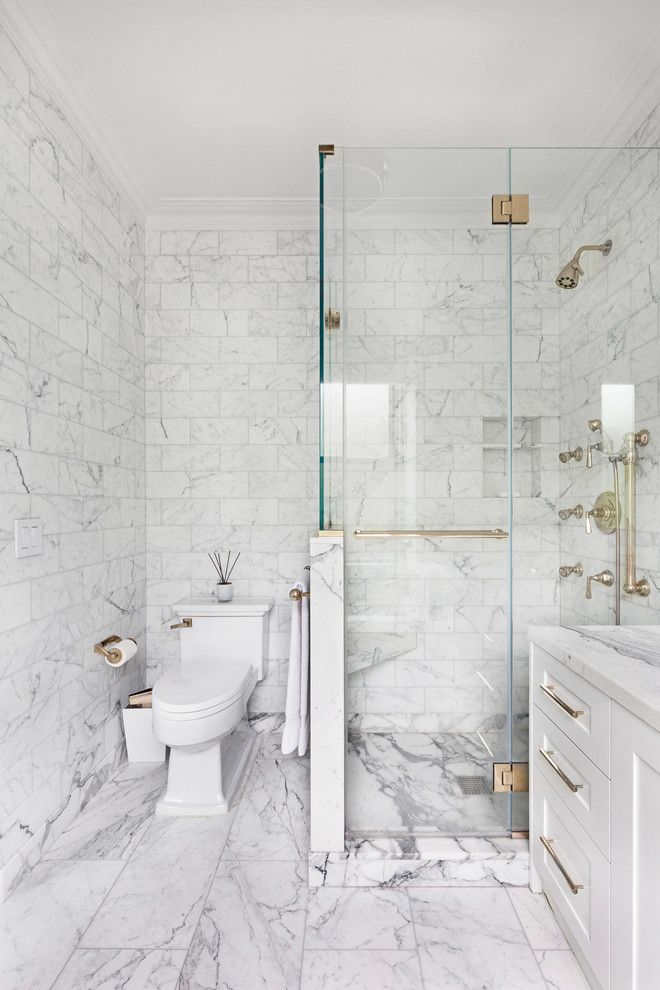 Carrera Marble Bathrooms Shaker Cabinets Two Piece Toilet
