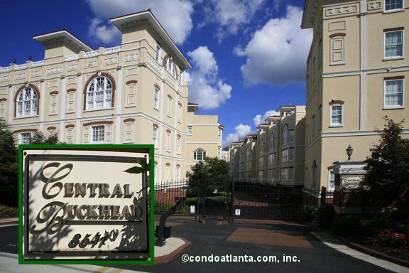 The Central Buckhead Is A Unique And Trendy Gated Community Of Just 28  Townhomes Featuring Roof