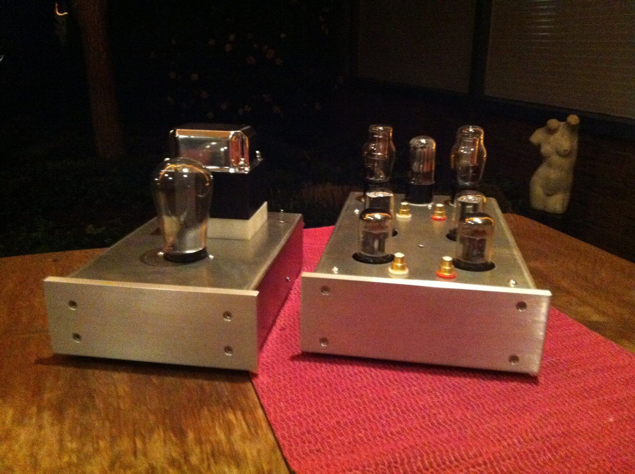 DSA Purist 6SL7 6SN7 Phono Stage Handmade By Electronics For The Music Enthousiast Dirk Sloos