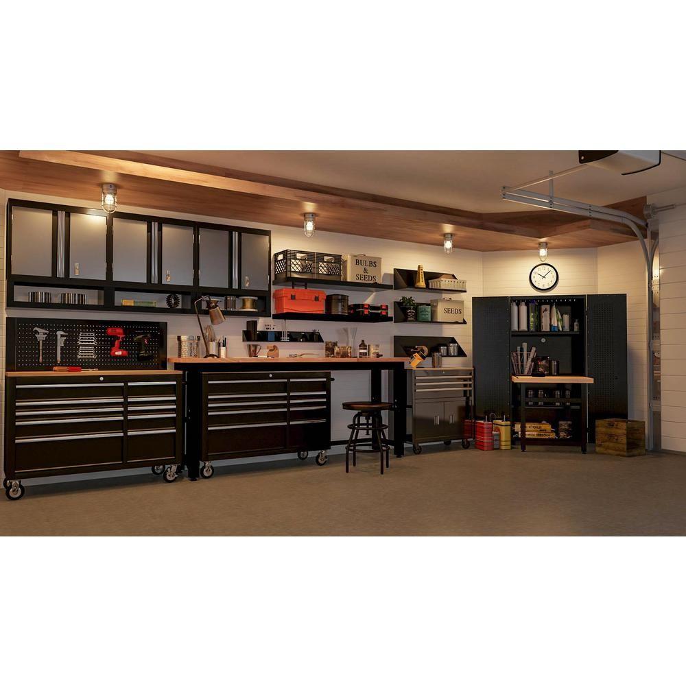 Home Decorators Collection Industrial Mansard Adjustable Height