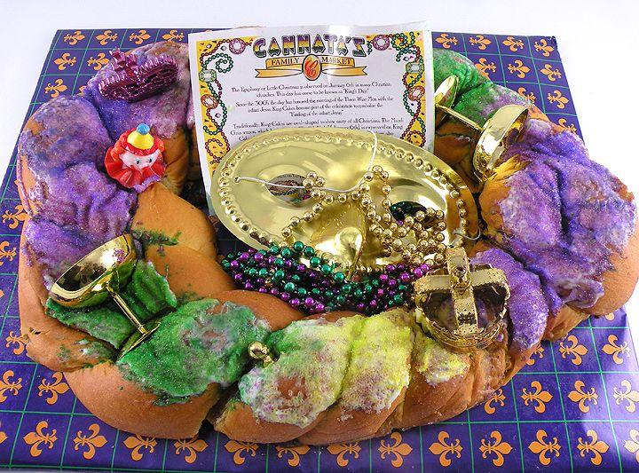 King Cake from CannatasKingCakes.com