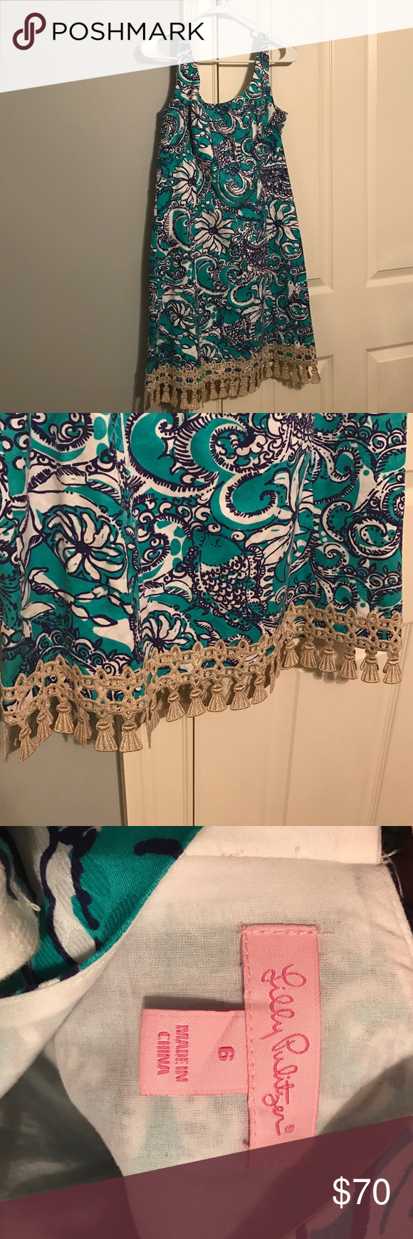 Lilly Pulitzer Eaton Dress Size 6 LP dress. Worn once. Excellent condition. Lilly Pulitzer Dresses Mini