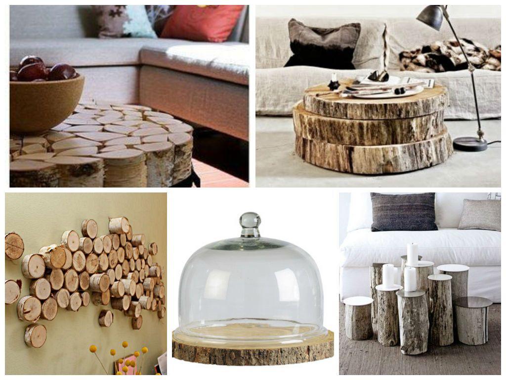 d co au naturelle le rondin de bois dans la d co 2 id e faire avec du bois pinterest. Black Bedroom Furniture Sets. Home Design Ideas